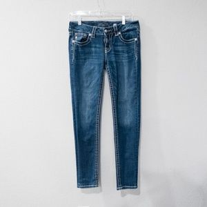 Miss Me Ankle Skinny Blue Jeans Size 27